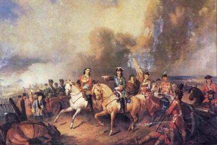 Річниця Полтавської битви  27 червня 2014 р.